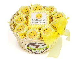 Smiley Face Gift Basket