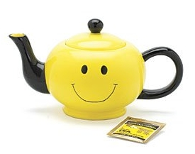 Smiley Face Tea Pot