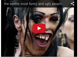 ugly funny looking people