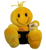 Tickle Me Happy Face Plush Doll