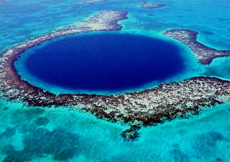 sinkhole Great Blue Hole