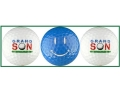 Grandson Golf Balls w/ Blue Smiley