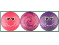 Smiley Golf Balls - Bright Colors
