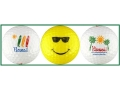 Hawaii Golf Balls w/ Surfboards, Smiley & Palms