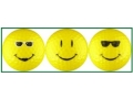 Smiley Golf Balls - Yellow