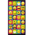 Smile Face Beach Towel